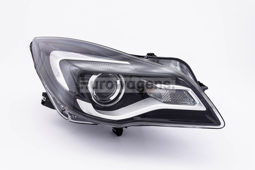 Headlight right LED DRL Vauxhall Insignia 13-16