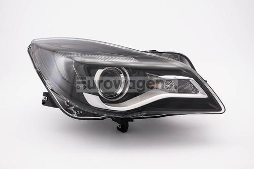 Headlight right DRL Vauxhall Insignia 13-16