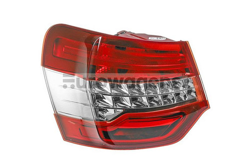 Rear light left Citroen C5 08-10 Saloon