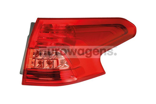 Rear light right Citroen C5 08-10 Estate