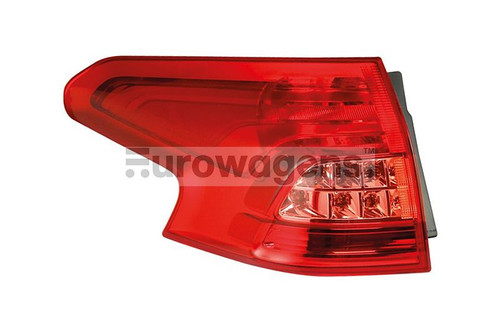 Rear light left Citroen C5 08-10 Estate