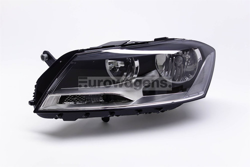 Headlight left VW Passat 11-14 Valeo