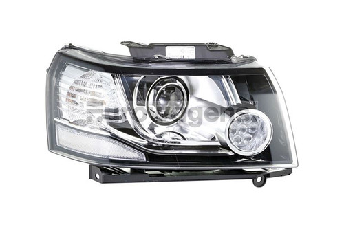 Headlight Bi-xenon right LED DRL Land Rover Freelander MK2 12-14