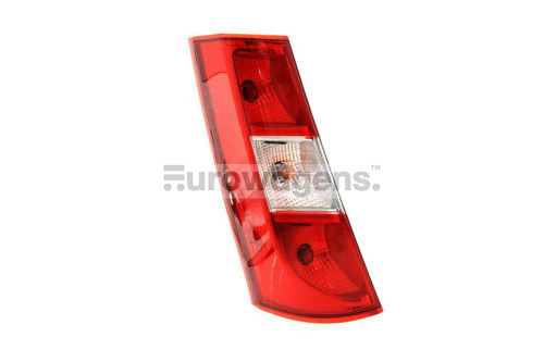 Rear light left Dacia Dokker 12-16