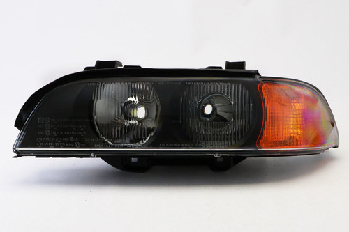 Headlight left with orange indicator BMW 5 Series E39 95-00