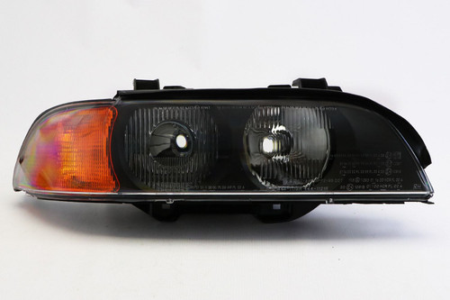 Headlight right with orange indicator BMW 5 Series E39 95-00