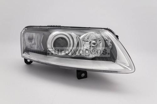 Headlight right xenon Audi A6 04-08
