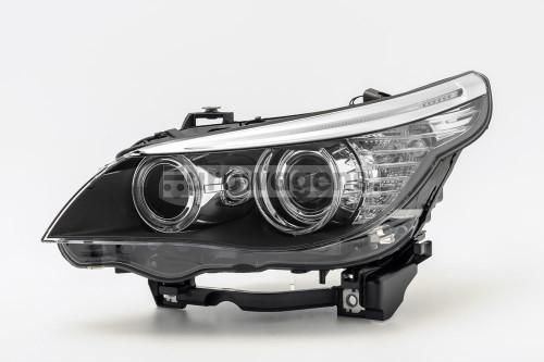 Headlight left LED DRL BMW 5 Series E60 E61 LCI 07-10