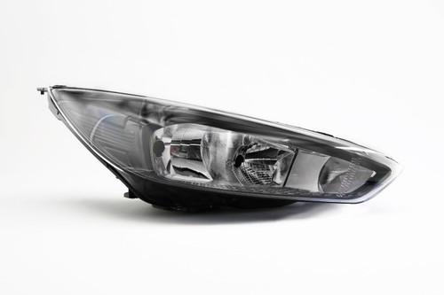Headlight right black Ford Focus 14-17
