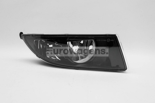 Fog light right black with DRL and cornering light Skoda Fabia Roomster