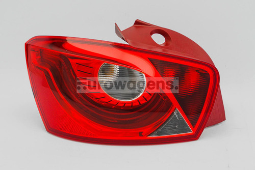 Rear light left Seat Ibiza 08-16 5 door