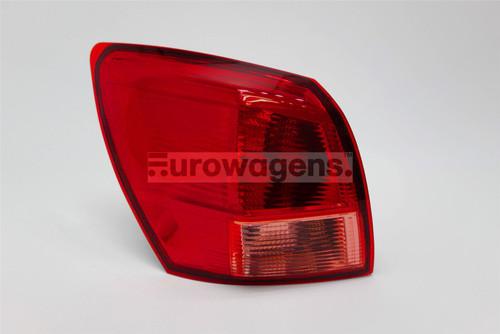 Rear light left Nissan Qashqai 07-10