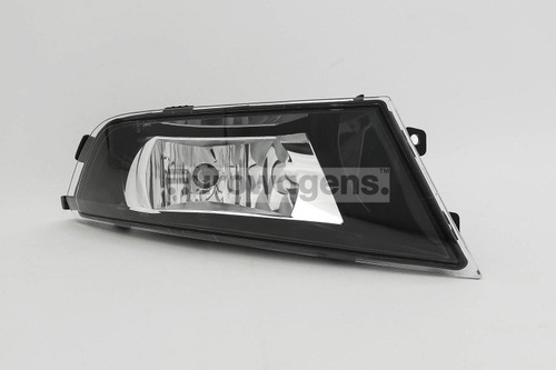 Front fog light right with bulb Skoda Fabia 15-17