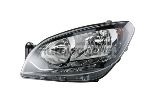 Headlight left LED DRL Skoda Citigo 17-19