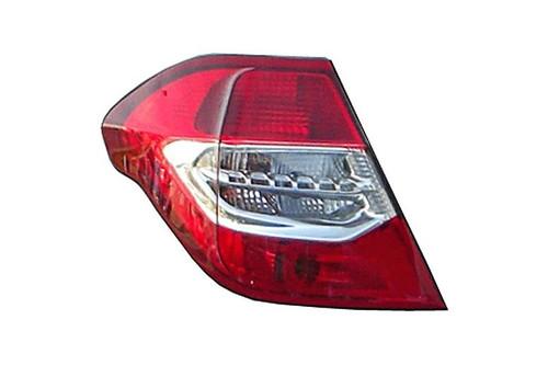 Rear light left Citroen C4 10-14