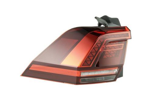 Rear light left dark red LED VW Tiguan 16-17