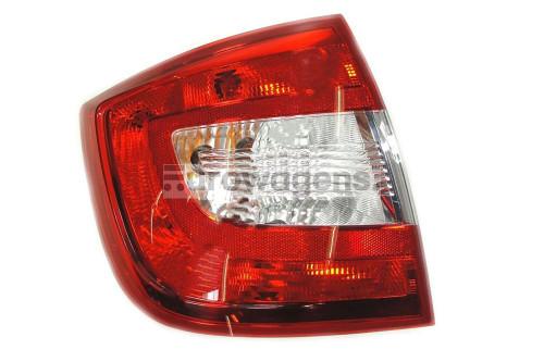 Rear light left Skoda Rapid 12-16 Hatchback