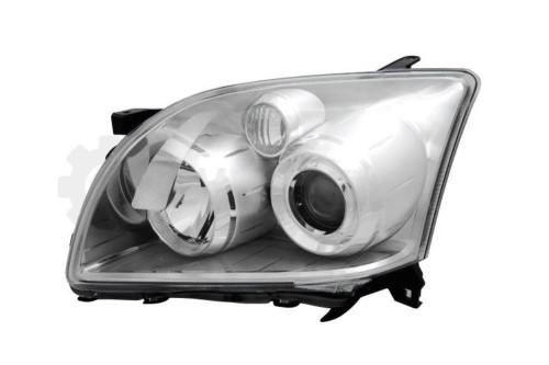 Headlight chrome left Toyota Avensis 06-08