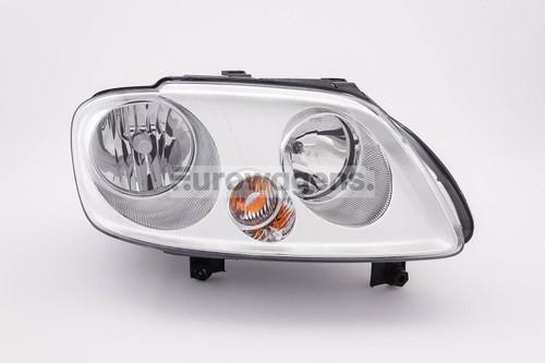 Headlight right twin reflector VW Touran 03-05