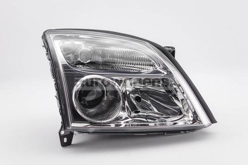 Headlight right chrome Vauxhall Signum 03-05