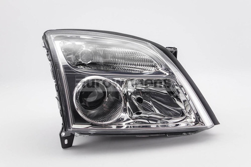 Headlight right chrome Vauxhall Vectra C 02-04