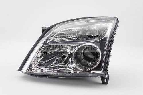 Headlight left chrome Vauxhall Vectra C 02-04