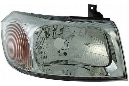 Headlight right chrome Ford Transit 00-06