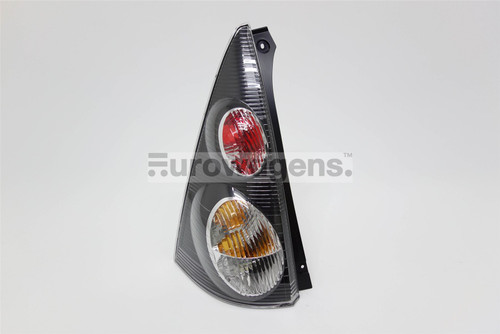Rear light left black Citroen C1 05-12