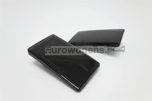 Front tow eye covers set black VW Golf MK3 Vento