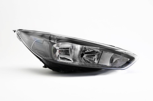 Headlight right black DRL Ford Focus 14-17