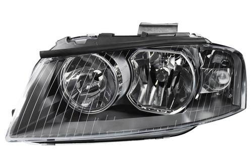 Headlight left Audi A3 03-08