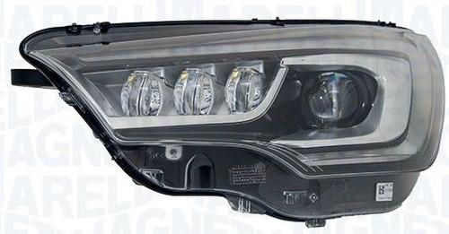 Headlight right bi-xenon LED DRL AFS Citroen C4 15-17