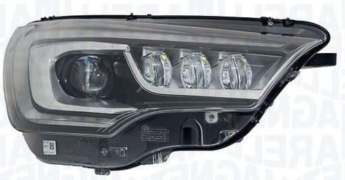 Headlight left bi-xenon LED DRL AFS Citroen C4 15-17
