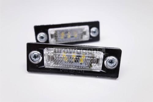 Number plate lights set LED VW Golf Plus 05-09