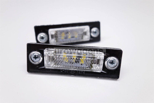 Number plate lights set LED VW Jetta 05-10