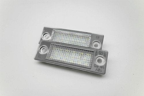 Number plate light set LED VW Jetta 05-10