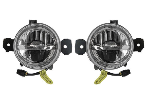 Front LED fog lights set BMW X1 E84 09-15
