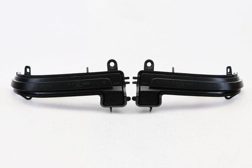 Mirror indicators set black LED dynamic BMW 3 Series F30 F31 2011-