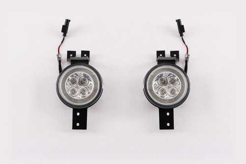 Front indicator set clear LED with DRL Mini Cooper One R50 R52 R53 01-06