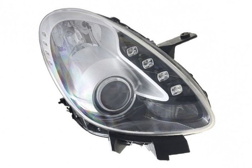 Headlight right chrome LED DRL Alfa Romeo Giulietta 10-