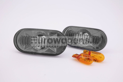Side indicator set crystal smoked Renault Clio MK2 98-01