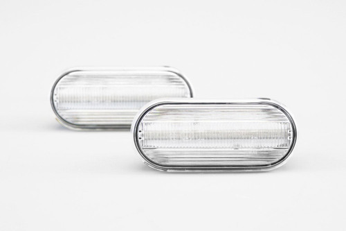 Side indicators set clear LED VW Caddy MK3 04-