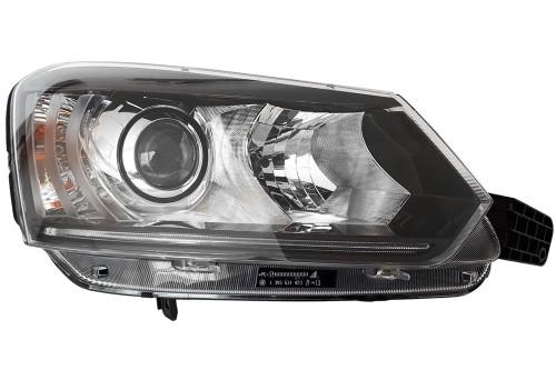 Headlight right xenon LED DRL Skoda Yeti 14-