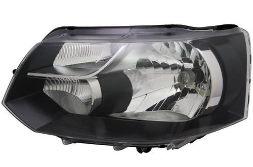 Headlight left single reflector VW Transporter Caravelle T5 10-15