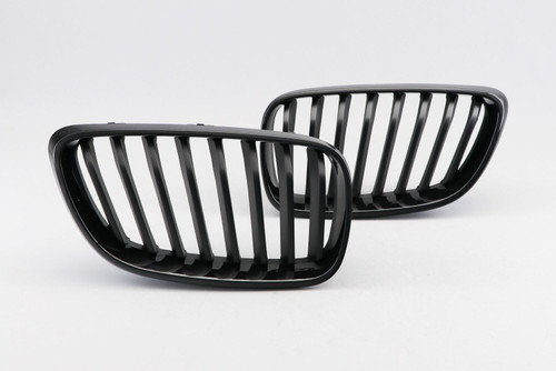 Kidney grille gloss black BMW 2 Series F22 12-17