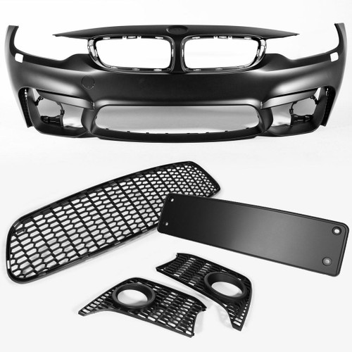 Front bumper set M4 look BMW 4 Series Gran Coupe F36 14-