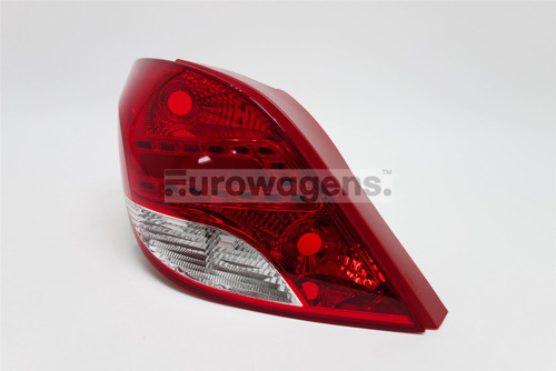 Rear light left LED Peugeot 207 09-13