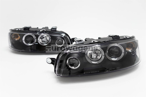 Angel eyes headlights set Fiat Punto 99-03