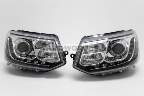 Headlights set DRL LED VW Transporter T5 Caravelle