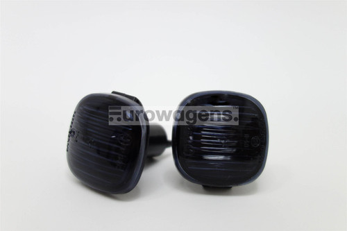 Side indicators set black Audi A3 A4 A8 95-99